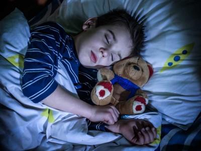 Child-Sleeps