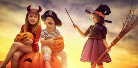 Children-on-Halloween