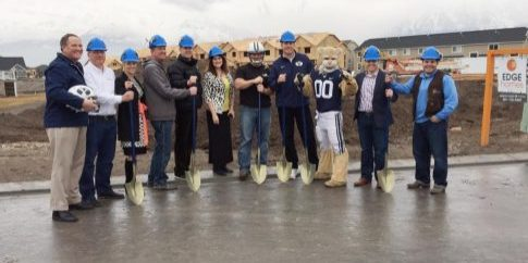 Cougar House Ground Breaking