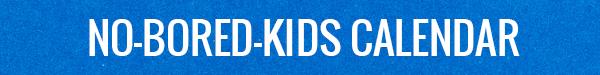 Utah's No-Bored-Kids Calendar