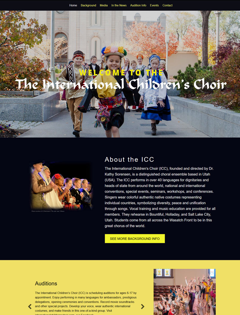 The International Children's Choir