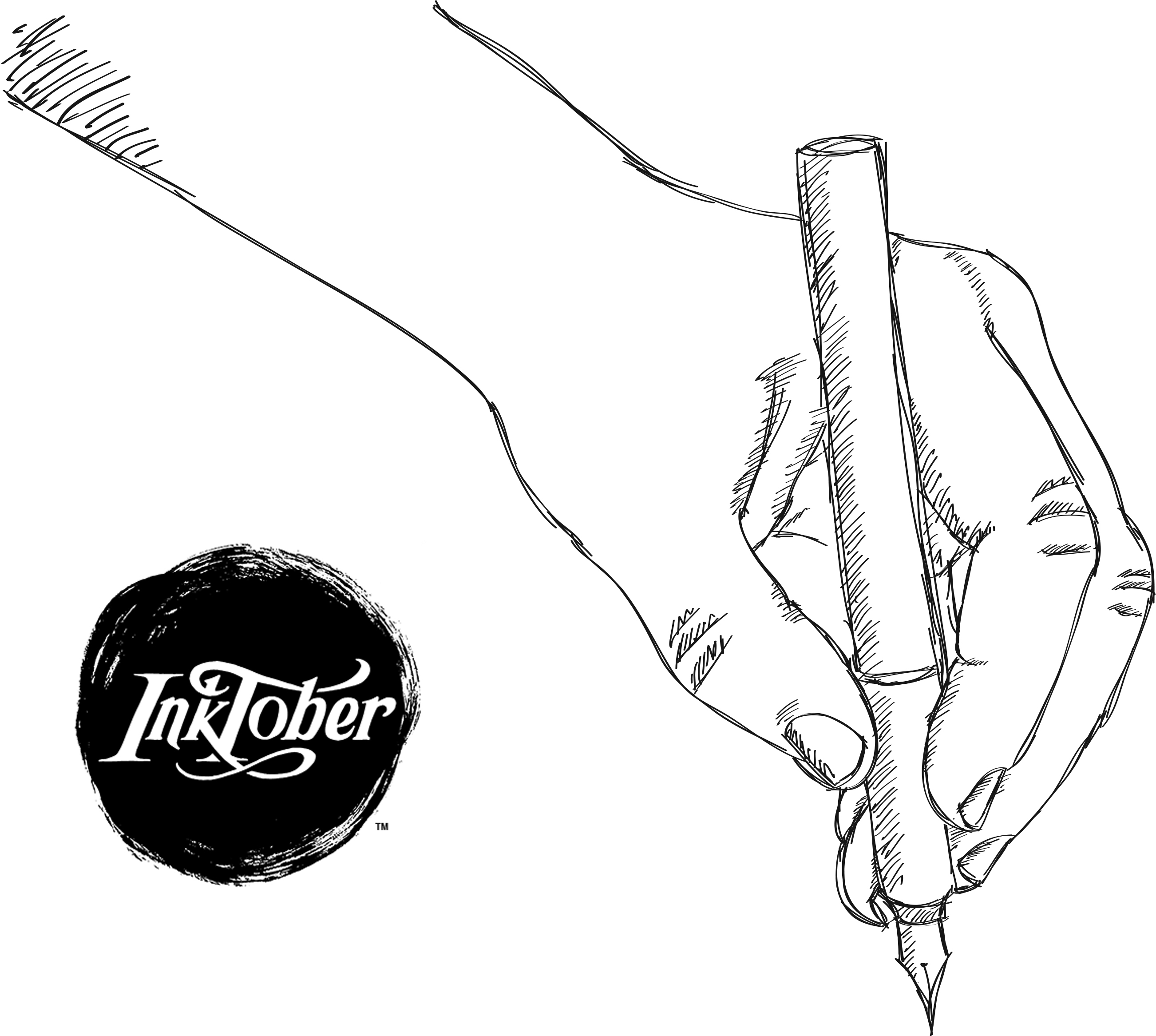 Participate In Inktober™ Drawings At The Salt Lake County
