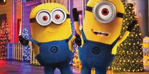 Minions at Universal Studios Hollywood.