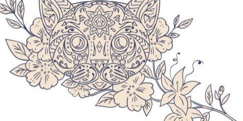 cat-head-jasmine-flower-mandala[1]